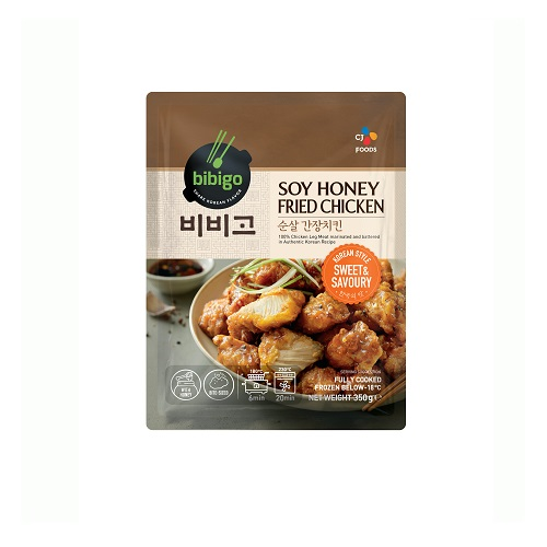 Bibigo Fried Chicken-Soy Honey 350g